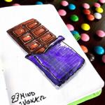 ilustracja czekolada