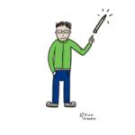 ilustracja człowiek