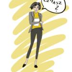 ilustracja kobieta