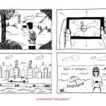 ilustracja storyboard